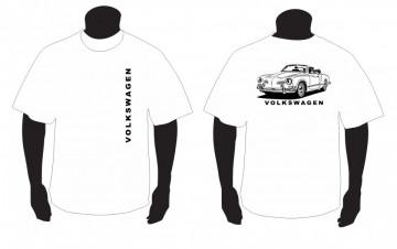 T-shirt para Volkswagen Karmann Ghia