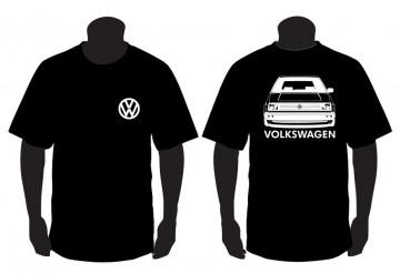 T-shirt para Volkswagen MK2 ( farol quadrado )