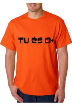 T-shirt  - Tu és D+