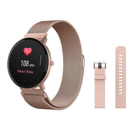 Poze Ceas Smartwatch Forever ForeVigo SB-320, rose gold