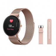 Ceas Smartwatch Forever ForeVigo SB-320, rose gold