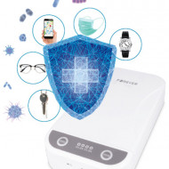 Sterilizator UVC 3 in 1, Forever, pentru obiecte mici, smartphone, functie aromaterapie, mufa USB