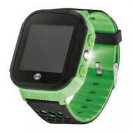Ceas Smartwatch copii Forever KW-200, GPS,Verde