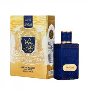AHLAM Al ARAB Blue Water Zaafaran 80 ml Ambalaj