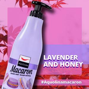 MACARON LAVENDER & HONEY Aquolina Gel Dus