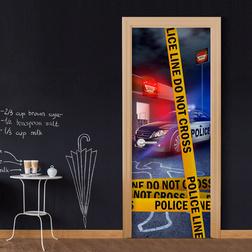 Fotótapéta ajtóra - Do Not Cross
