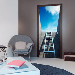 Fotótapéta ajtóra - Photo wallpaper - Ladder to heaven I