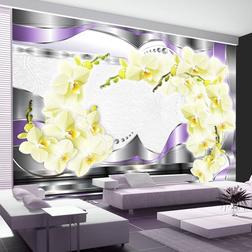 Fotótapéta - Arch with orchids