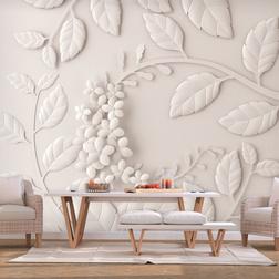 Fotótapéta - Paper Flowers (Cream)