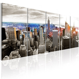 Kép - New York: Grey Tower Blocks