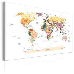 Kép - World Map: Travel Around the World