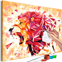 Kifestő - Abstract Lion