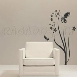 Virágok, pillangók...dekoráció