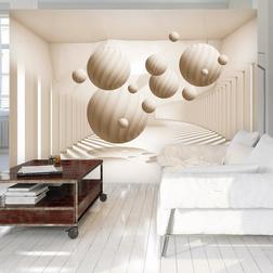 Fotótapéta - Beige Balls