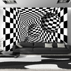 Fotótapéta - Black & White Corridor