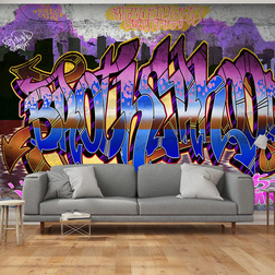 Fotótapéta -  Colorful Mural