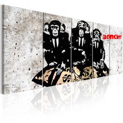 Kép - Banksy: Three Monkeys