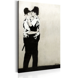 Kép - Kissing Coppers by Banksy
