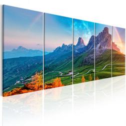 Kép - Rainbow in the Alps I