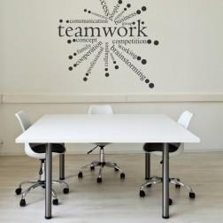 Team work circle