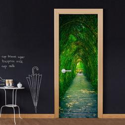 Fotótapéta ajtóra - Green Corridor