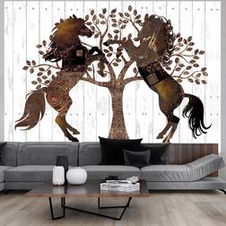 Fotótapéta - Mechanical Horses