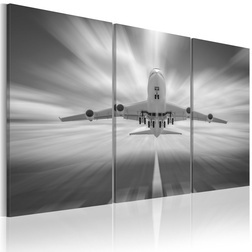 Kép - Felé a felhők - triptych