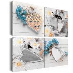 Kép - Flowers and hearts