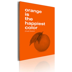 Kép - Orange is the happiest color (Frank Sinatra)