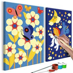 Kifestő - Butterfly & Unicorn