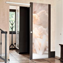Fotótapéta ajtóra - Heavenly Stairs