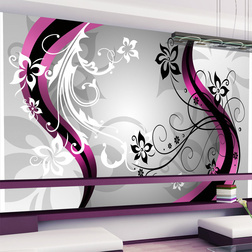 Fotótapéta - Art-flowers (pink)
