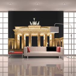 Fotótapéta - Pariser Platz és a Brandenburgi kapu. Berlin
