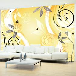 Fotótapéta - Yellow roses