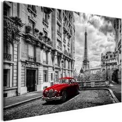 Kép - Car in Paris (1 Part) Red Wide