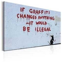 Kép - If Graffiti Changed Anything by Banksy