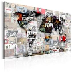 Kép - Map: Banksy inspiration