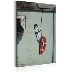 Kép - Swinger, New Orleans - Banksy