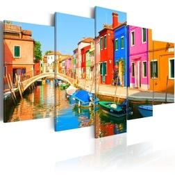 Kép - Waterfront in rainbow colors