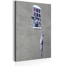 Kép - Well Hung Lover by Banksy