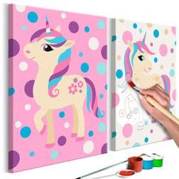 Kifestő - Unicorns (Pastel Colours)