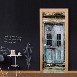 Fotótapéta ajtóra - Old Door