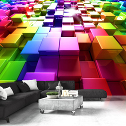 Fotótapéta - Colored Cubes