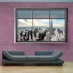 Fotótapéta - New York window II
