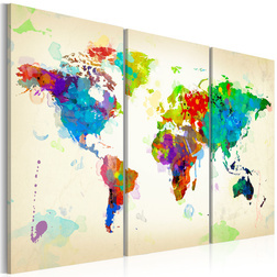 Kép - All colors of the World - triptych