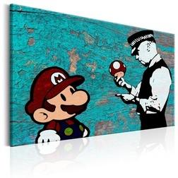 Kép - Banksy on Wood