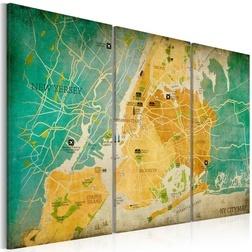Kép - Map of New York City's: neighborhoods