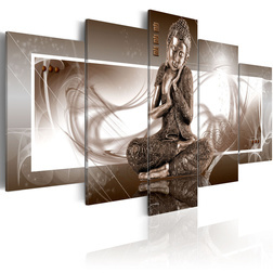 Kép - Töprengett Buddha
