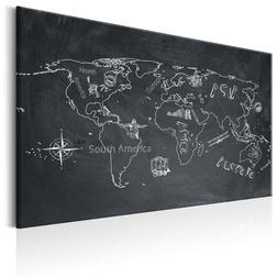 Kép - World Map: Travel broadens the Mind
