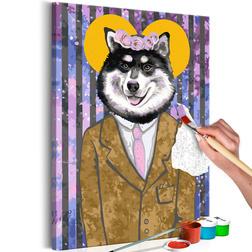 Kifestő - Dog in Suit